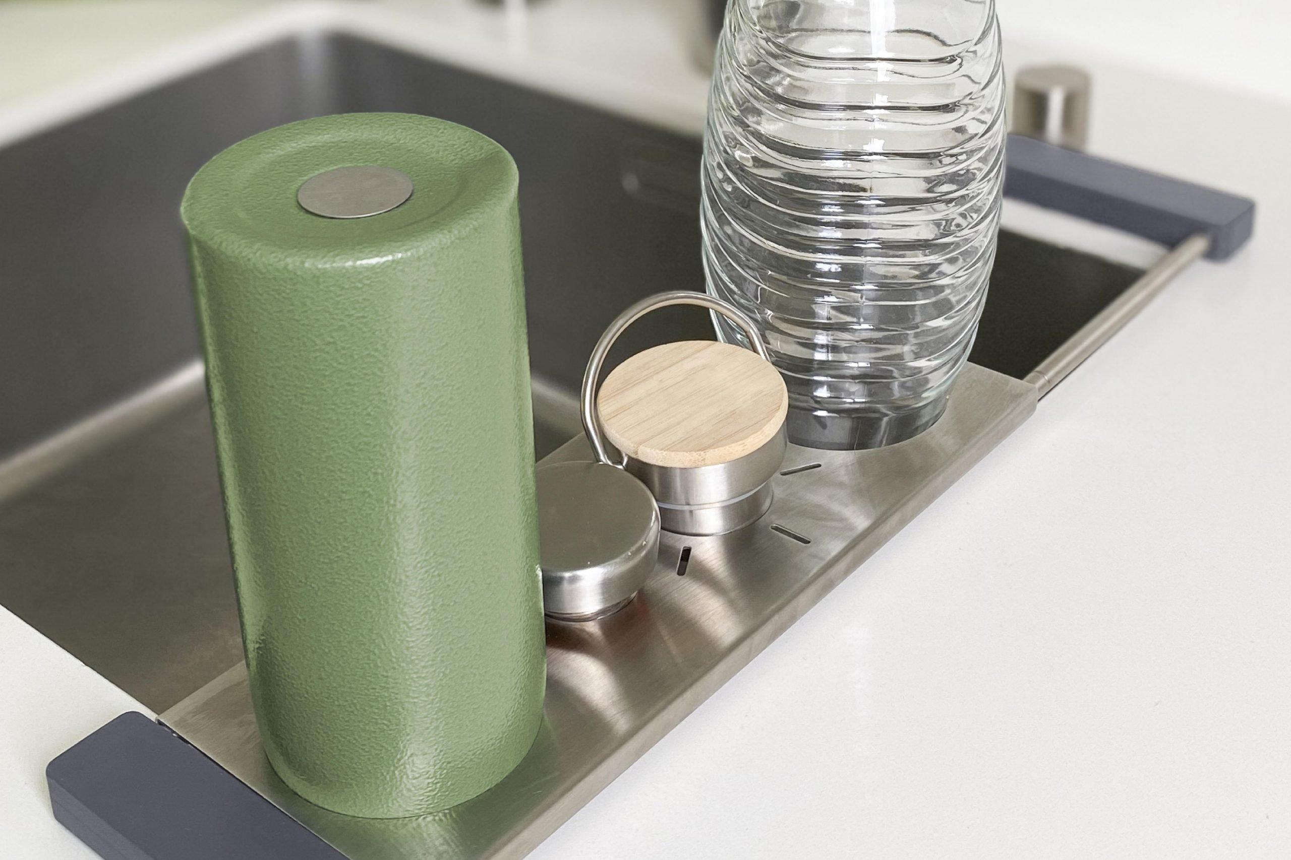 drip.it - der mutlifunktionale Flaschenabtropfhalter für Flaschen von SodaStream, Crystal, Emil und viele mehr